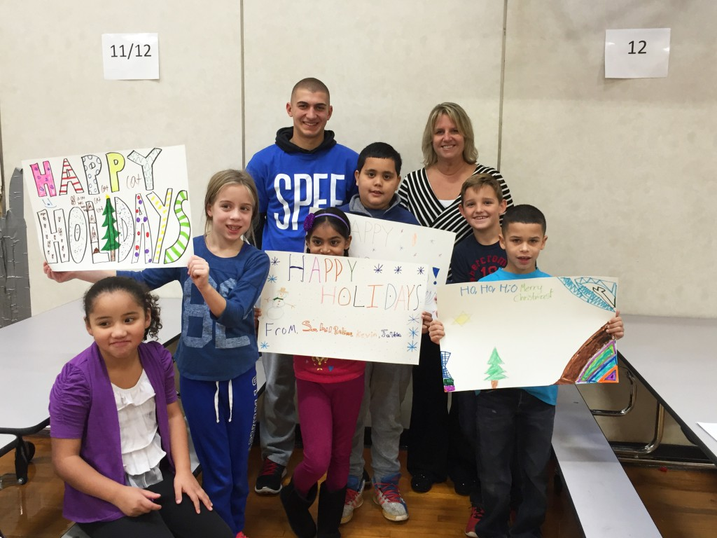 Roxbury Presenting their holiday posters